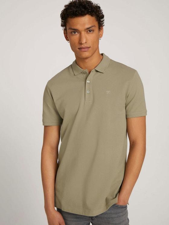Basic Poloshirt - Männer - Silver Olive - 5 - TOM TAILOR Denim