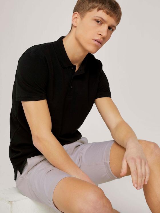 Basic Poloshirt - Männer - Black - 5 - TOM TAILOR Denim