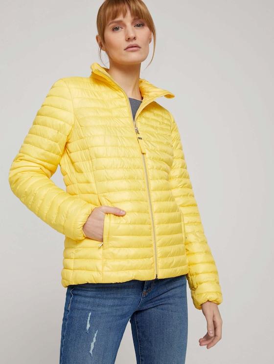 Lightweight Steppjacke - Frauen - smooth yellow - 5 - TOM TAILOR