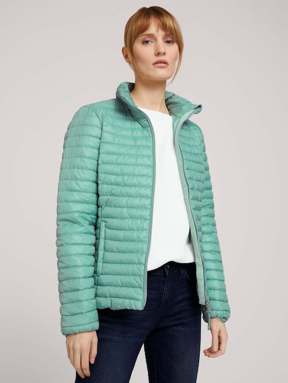 Lightweight Steppjacke - Frauen - soft leaf green - 5 - TOM TAILOR