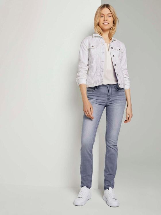 Alexa slim jeans - Vrouwen - grey denim - 3 - TOM TAILOR