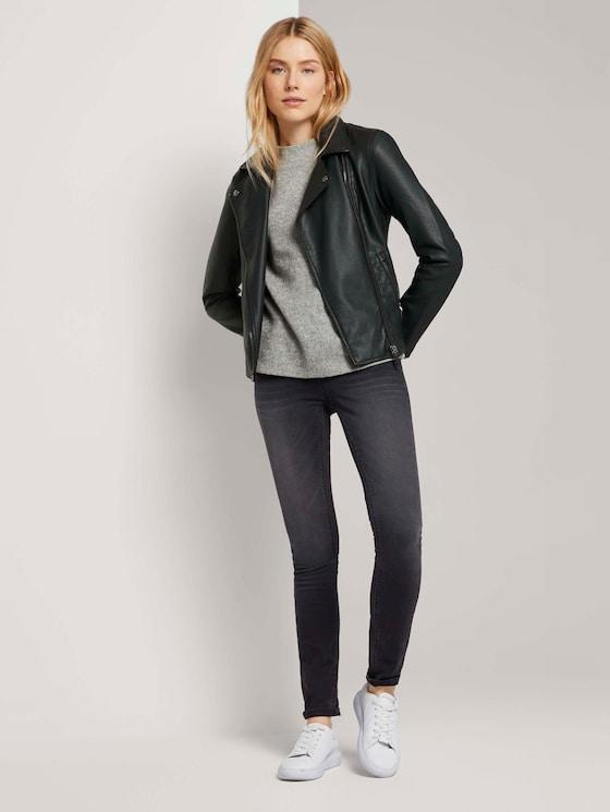 Alexa Skinny Jeans - Frauen - grey denim - 3 - TOM TAILOR