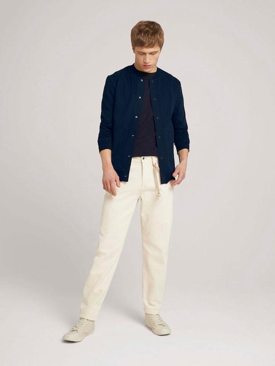 Loose Fit Jeans - Männer - unbleached natural bull denim - 3 - TOM TAILOR Denim