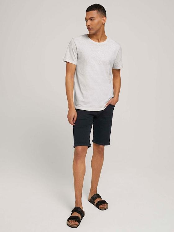 Regular Fit Jeansshorts - Männer - black black denim - 3 - TOM TAILOR Denim