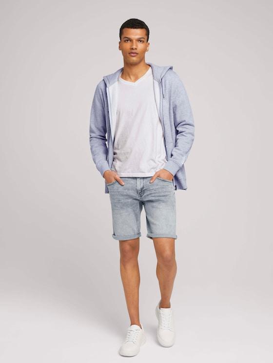 Regular Fit Jeans-Shorts - Männer - light stone blue grey denim - 3 - TOM TAILOR Denim