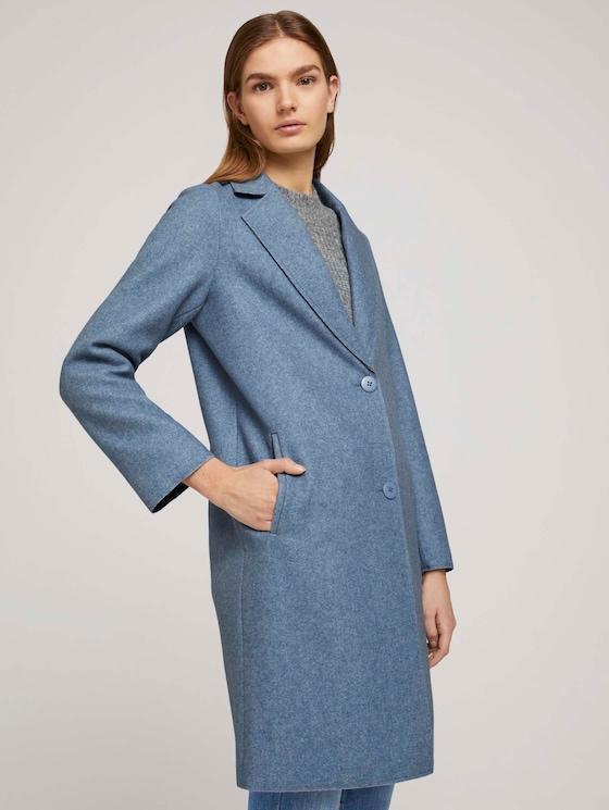 Blazer jas - Vrouwen - country blue melange - 5 - TOM TAILOR Denim