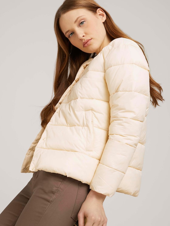 lightweight Steppjacke - Frauen - blazed beige - 5 - TOM TAILOR Denim