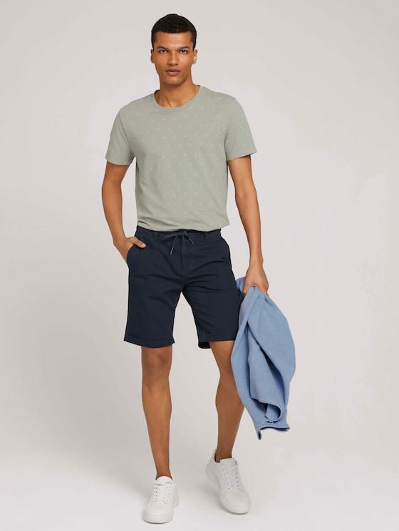 Chino Shorts - Männer - Sky Captain Blue - 3 - TOM TAILOR Denim