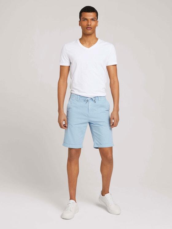 Chino Shorts - Männer - Foggy Blue - 3 - TOM TAILOR Denim
