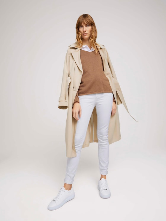 Alexa Skinny Jeans - Frauen - White Denim - 3 - TOM TAILOR