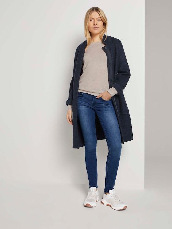 Alexa Skinny Jeans mit Bio-Baumwolle - Frauen - dark stone wash denim - 3 - TOM TAILOR