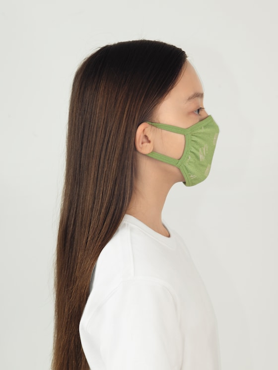 reusable fabric mask - Men - olive green - 5 - TOM TAILOR