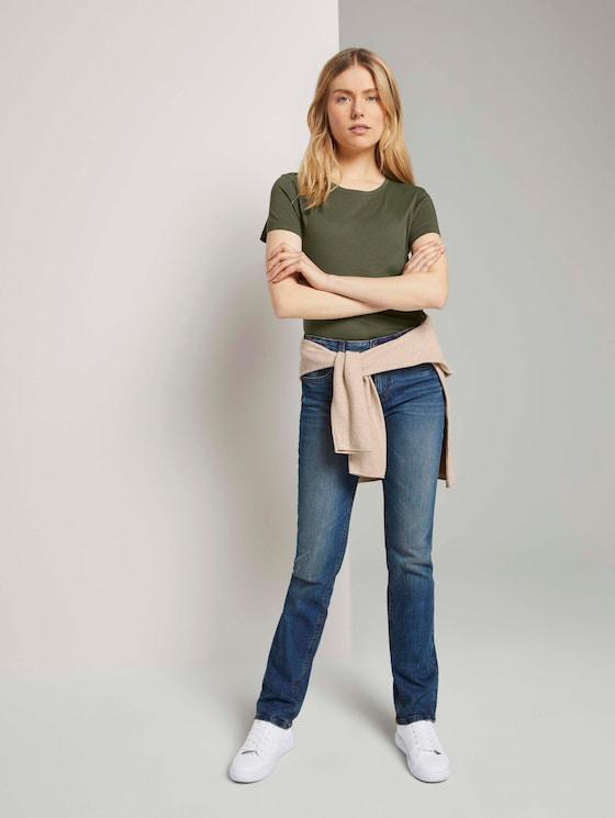 Alexa Straight Jeans - Frauen - stone wash denim - 3 - TOM TAILOR