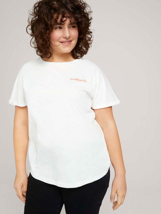 T-shirt made with organic cotton   - Women - Whisper White - 5 - My True Me