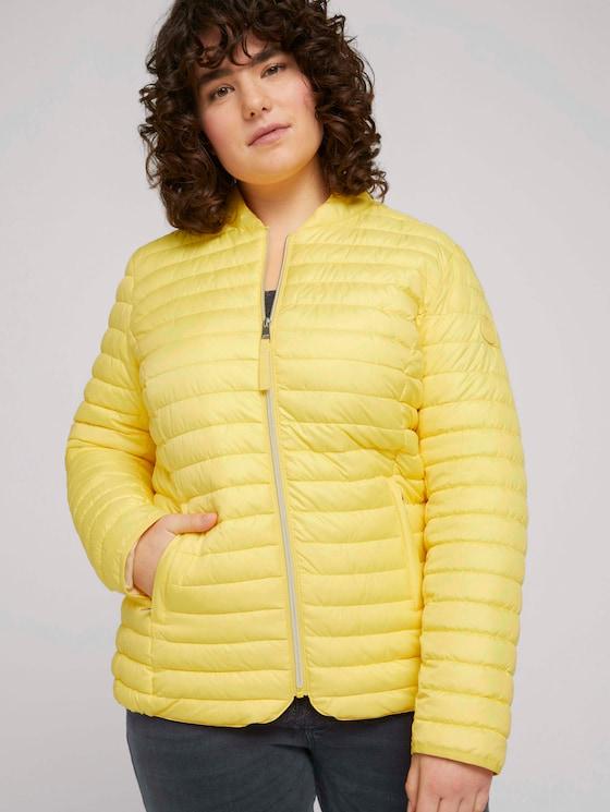 Curvy - Lightweight Steppjacke - Frauen - mellow yellow - 5 - My True Me