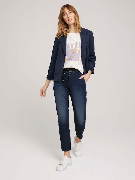 Loose Fit Jeans - Frauen - mid stone wash denim - 3 - TOM TAILOR