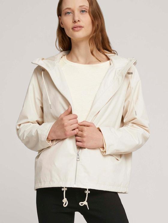 Übergangsjacke mit recyceltem Polyester  - Frauen - light beige - 5 - TOM TAILOR Denim
