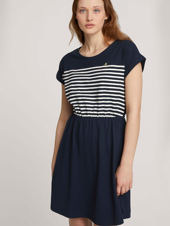 Jersey Minikleid - Frauen - Sky Captain Blue - 5 - TOM TAILOR Denim