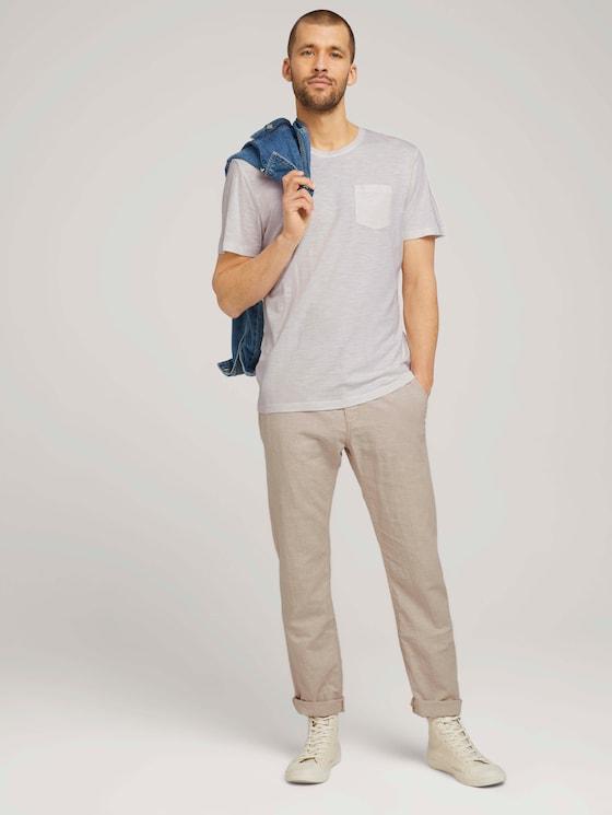 Travis Hose mit Bio-Baumwolle - Männer - beige chambray - 3 - TOM TAILOR