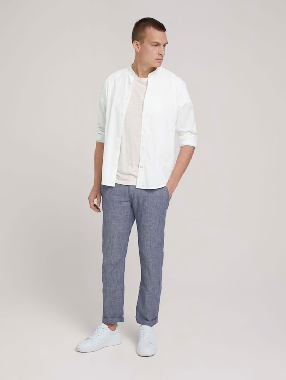 Travis Hose mit Bio-Baumwolle - Männer - helsinki night blue chambray - 3 - TOM TAILOR