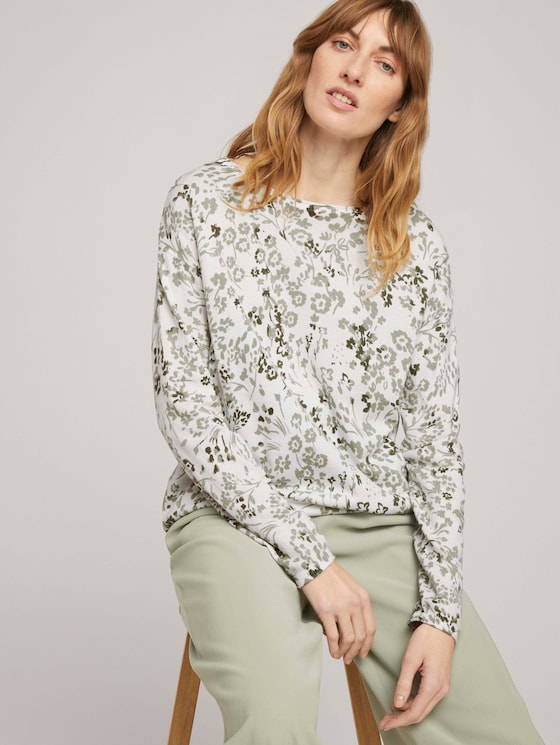 Pullover - Frauen - offwhite floral design - 5 - TOM TAILOR