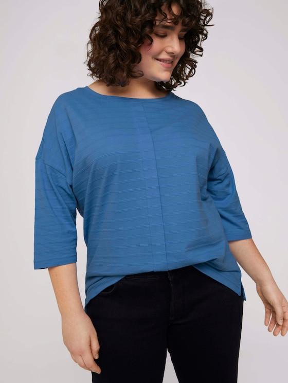 T-Shirt mit Bio-Baumwolle - Frauen - Marina Bay Blue - 5 - My True Me