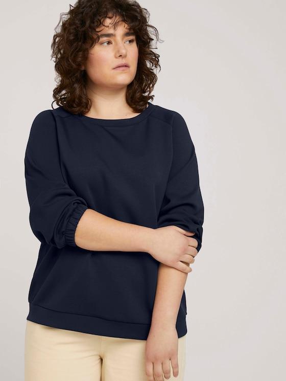 Sweatshirt mit Raglanärmeln - Frauen - Sky Captain Blue - 5 - My True Me