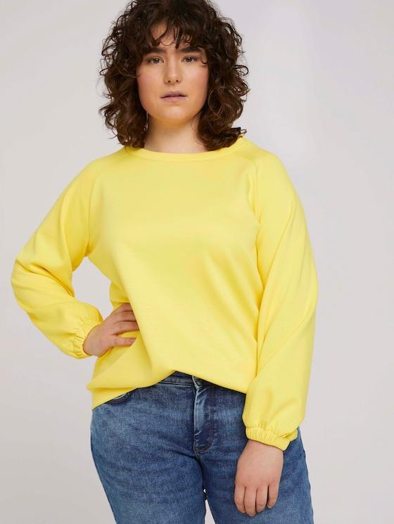 Sweatshirt mit Raglanärmeln - Frauen - mellow yellow - 5 - My True Me