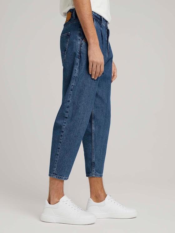 Balloon Fit Jeans - Männer - Used Mid Stone Blue Denim - 5 - TOM TAILOR Denim