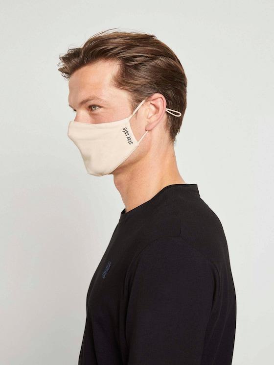 Stoffmaske wiederverwendbar - Frauen - soft beige - 5 - TOM TAILOR