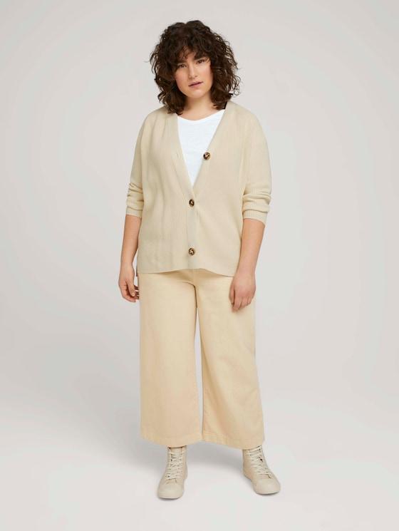 Loose Fit Culotte Hose - Frauen - blazed beige - 3 - My True Me