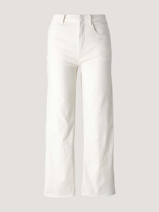 Kate Straight Jeans mit Bügelfalten - Frauen - Whisper White - 7 - Mine to five