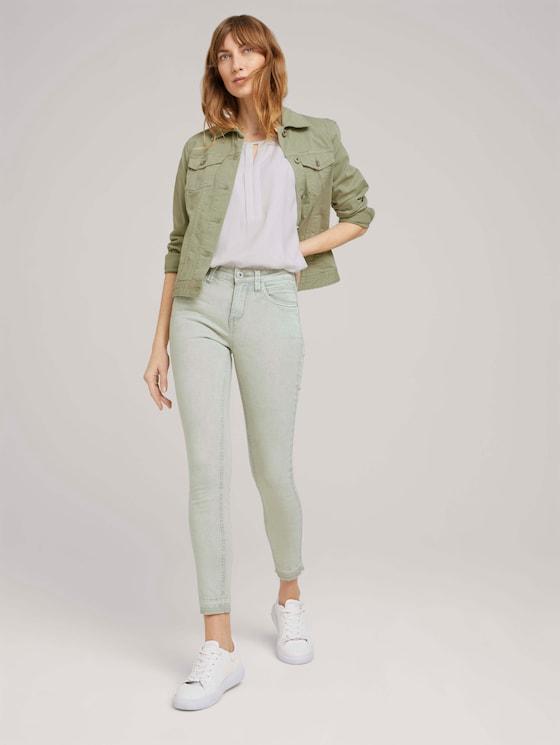 Alexa Skinny Jeans - Frauen - Prairie Grass Green - 3 - TOM TAILOR