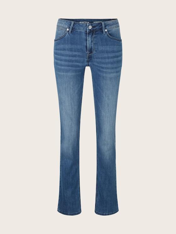 Alexa Straight Jeans mit Stretch - Frauen - mid stone wash denim - 7 - TOM TAILOR