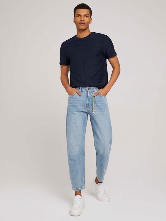 Loose Fit Summer Jeans - Männer - Super Stone Blue Denim - 3 - TOM TAILOR Denim