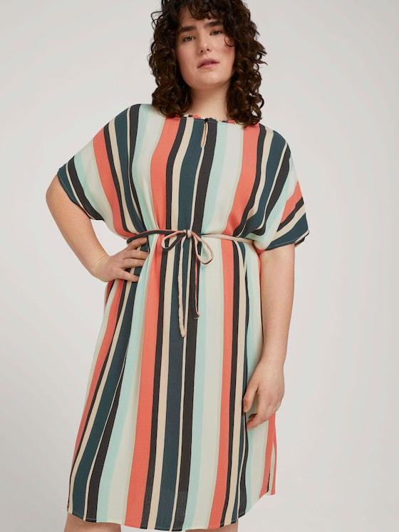 Gestreiftes Kleid mit LENZING™ ECOVERO™ - Frauen - multicolor sahara stripe - 5 - My True Me