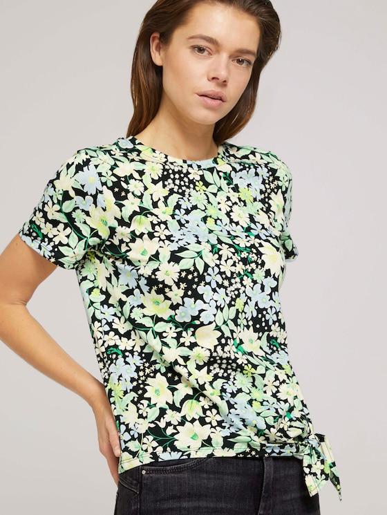 T-Shirt mit Bio-Baumwolle - Frauen - flower print - 5 - TOM TAILOR Denim