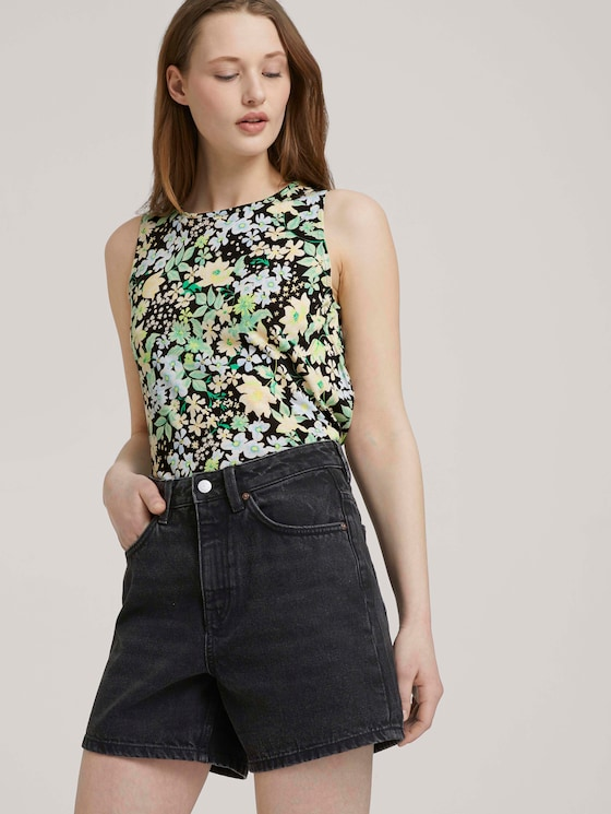 gemustertes Top - Frauen - flower print - 5 - TOM TAILOR Denim