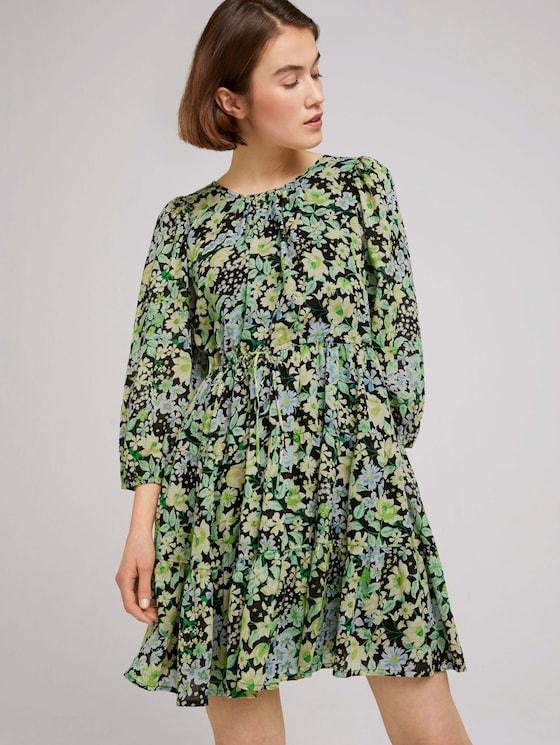 gemustertes Minikleid - Frauen - flower print - 5 - TOM TAILOR Denim