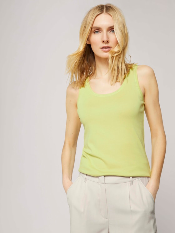 Basic Top - Frauen - celery ice - 5 - TOM TAILOR