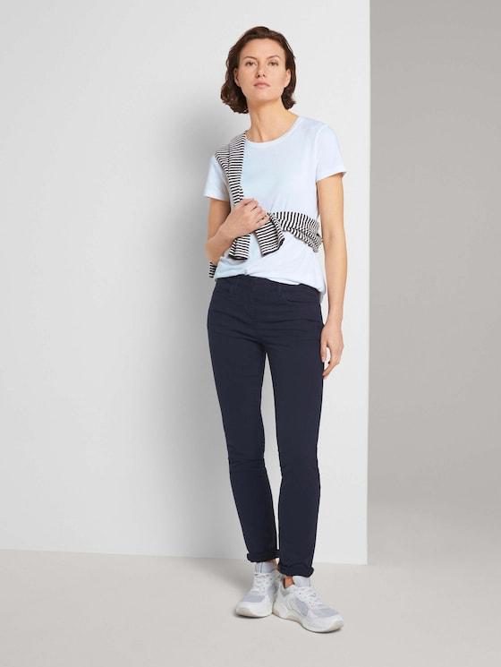 Alexa Slim Jeans - Vrouwen - Sky Captain Blue - 3 - TOM TAILOR
