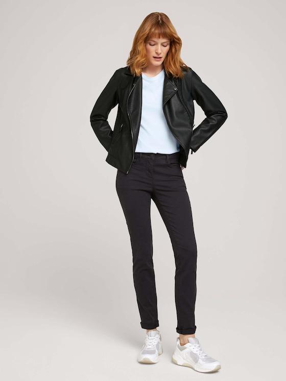 Alexa Slim Jeans - Frauen - deep black - 3 - TOM TAILOR