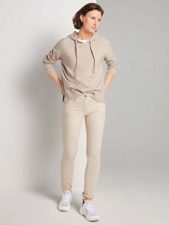 Alexa Slim Jeans - Frauen - soft vanilla - 3 - TOM TAILOR