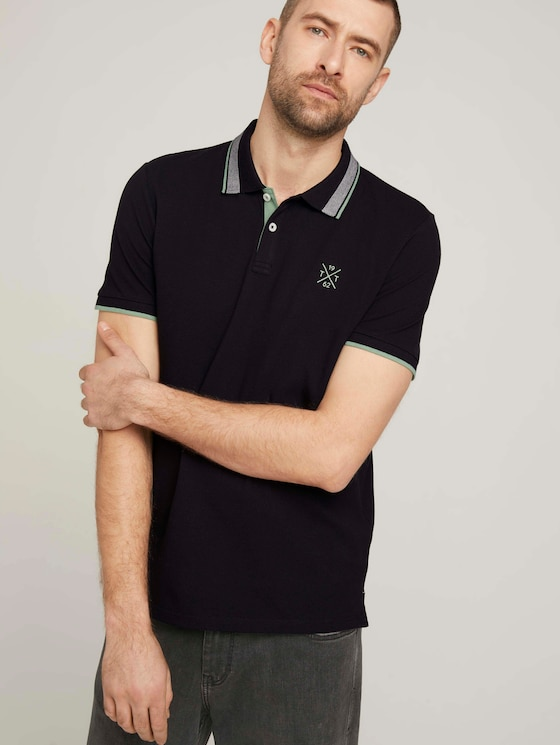 Poloshirt - Männer - Black - 5 - TOM TAILOR