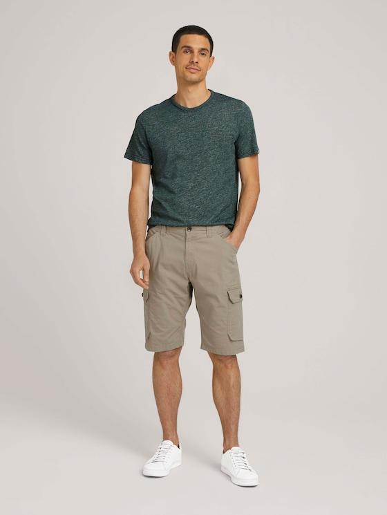 Josh slim cargo shorts - Men - Chinchilla - 3 - TOM TAILOR