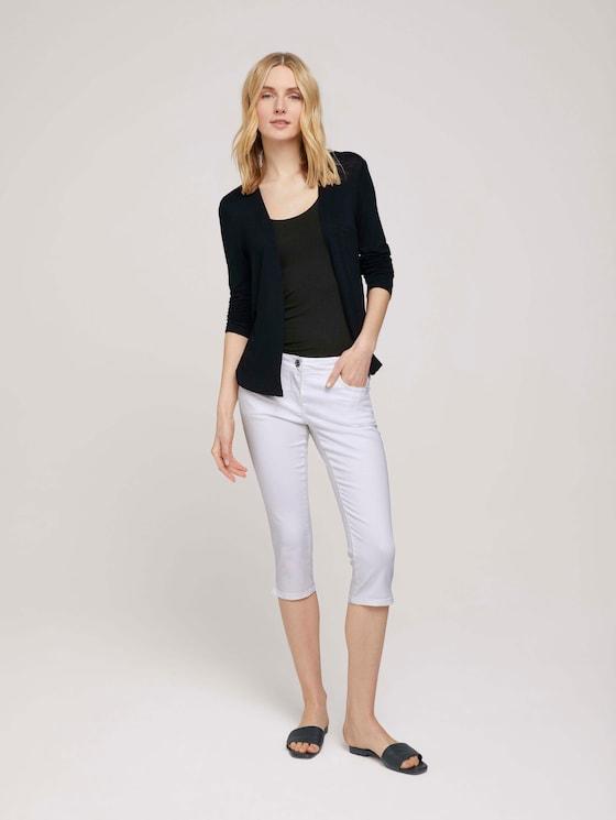 Alexa Slim Capri Jeans - Frauen - White - 3 - TOM TAILOR