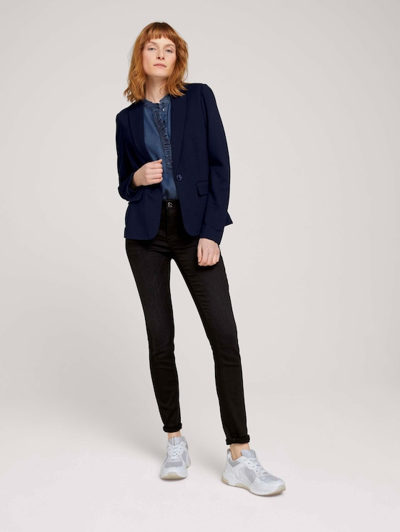 Alexa Skinny Jeans mit Lyocell   - Frauen - black stone wash denim - 3 - TOM TAILOR
