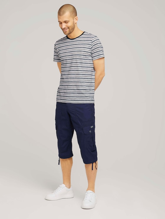 Max Cargo Bermuda Shorts - Männer - Sailor Blue - 3 - TOM TAILOR