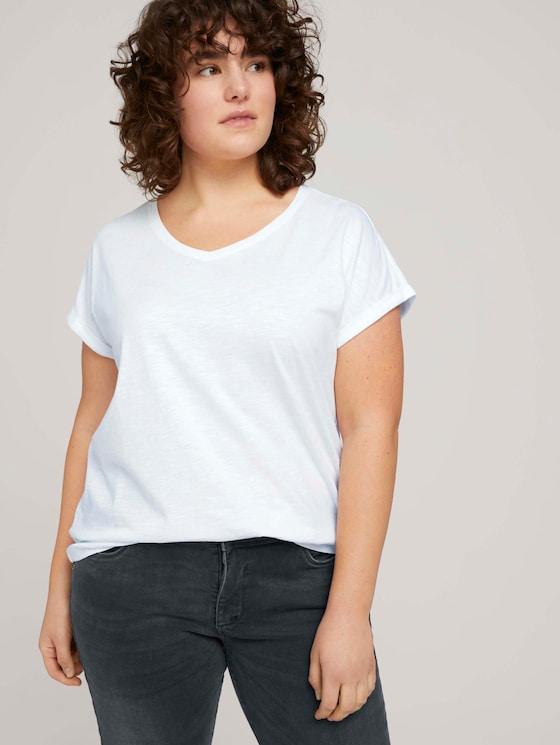 Loose Fit T-Shirt mit Bio-Baumwolle - Frauen - Black - 5 - My True Me