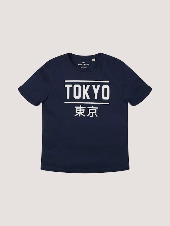 T-Shirt mit Print - Jungen - kids original - 7 - Tom Tailor E-Shop Kollektion